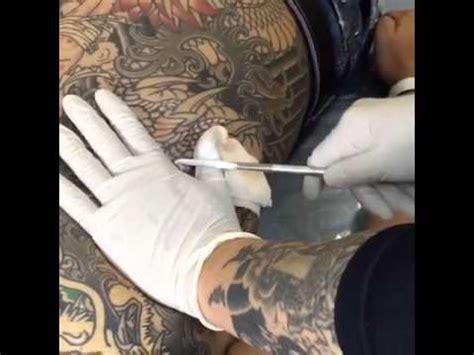 japanese tattoo youtube japanese tattoo tebori style 1 youtube