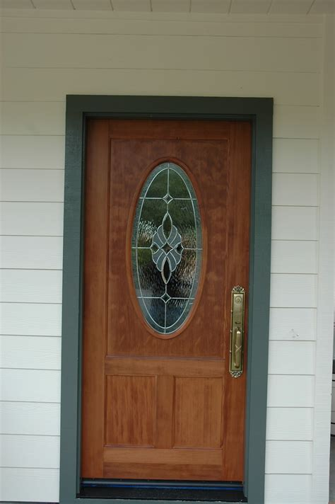 front door with oval window so many options which door do i choose ot glass