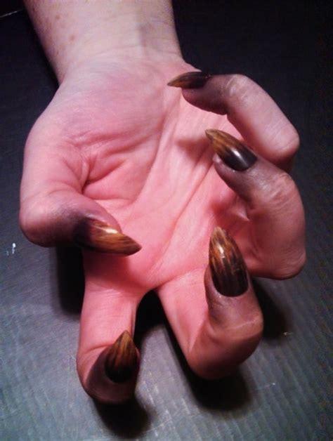 werewolf claws tutorial image gallery werewolf nails