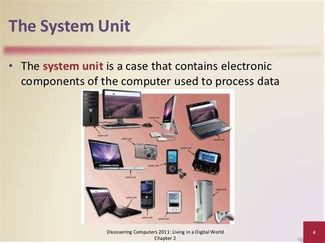 what is in law unit the components of the system unit