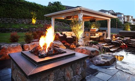 Kitchen Island Makeover Ideas firepit landscaping backyard covered patio designs with