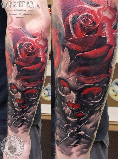 tattoo cost glasgow skull tattoo made by sile sanda artist located in glasgow