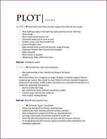 Novel Outline Template by Novel Outline Template Cvsleform