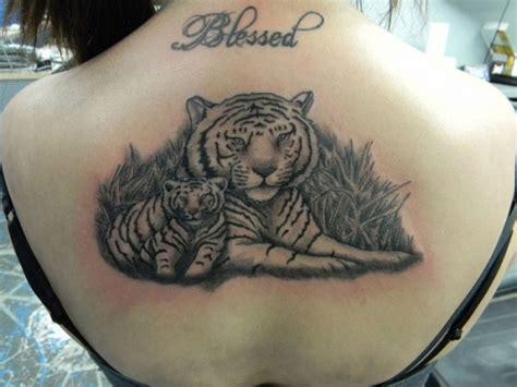 мама тигрица с тигренком фото татуировок
