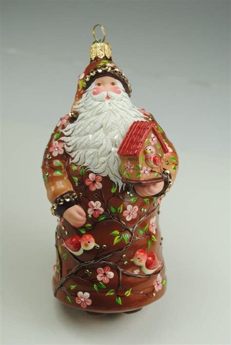 stunning patricia breen christmas ornament santa with