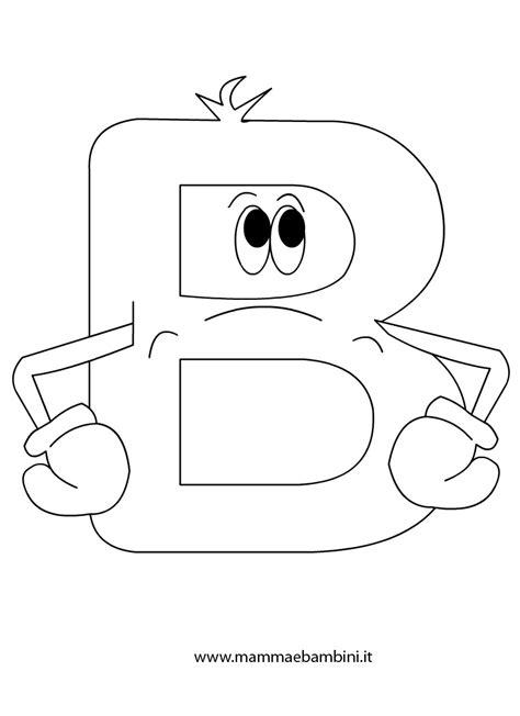 lettere animate da colorare alfabetiere per bambini da stare la b mamma e bambini