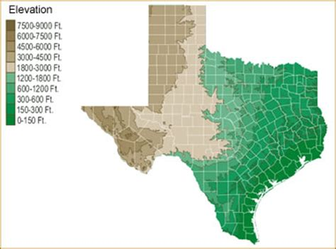 texas geological survey maps map of texas lakes streams and rivers