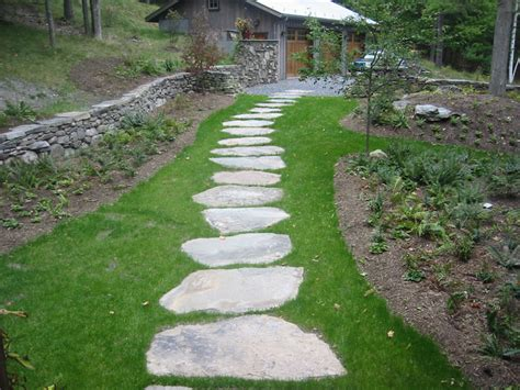 garden walkways stone walkway pictures natural square cut and brick