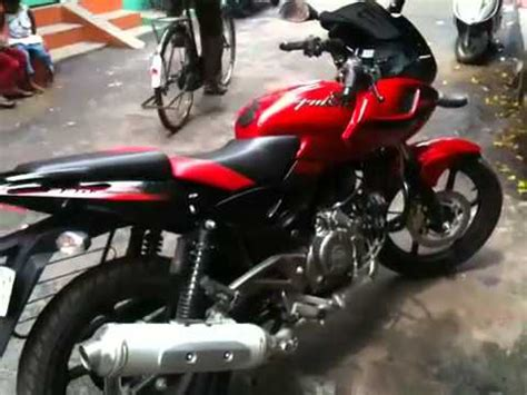 pulsar 220 dual colour hd red and black youtube