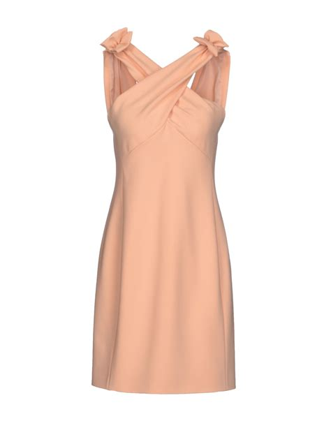 An Dress Moschino by Moschino Dress In Pink Apricot Lyst