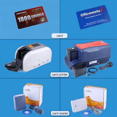 plastic identity card machine new condition printing pvc id card printing machine cheap
