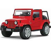 Mahindra Thar  Ride On Battery Operated Car For Kids