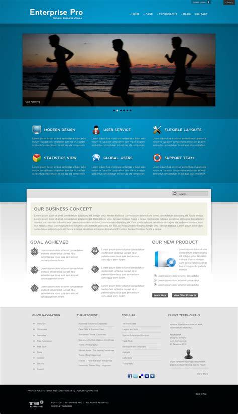 enterprise pro premium business joomla template by