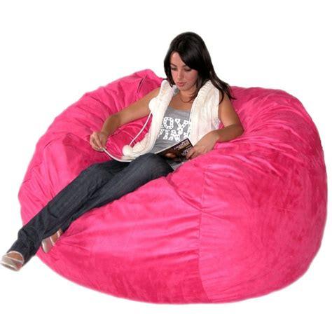 Pink Bean Bag Chair by Pink Bean Bag Chair For Home Furniture Design