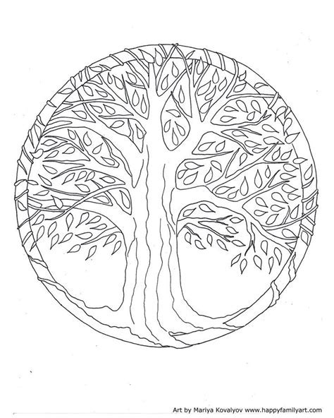 tree mandala coloring pages kapok tree coloring page coloring home