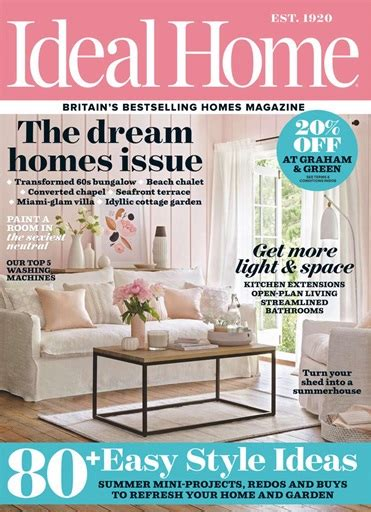 ideal home magazine july 2014 subscriptions pocketmags ideal home magazine august 2017 subscriptions pocketmags