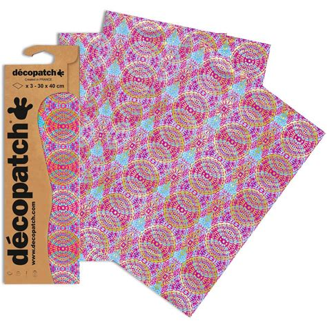 printable fabric sheets hobbycraft decopatch indian swirls paper 3 sheets hobbycraft