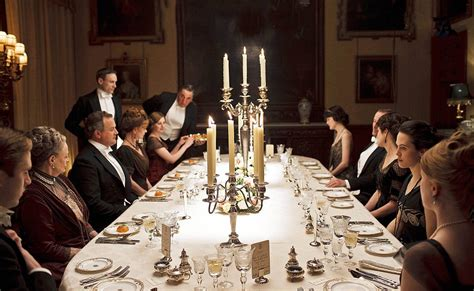 Dining Room Etiquette Downton How To Dine In Style Without Being Below The Salt Daily Mail