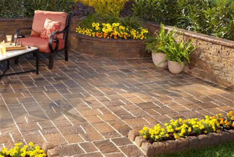 Easy Lay Patio by Best Patio Pavers Ideas Designs And 2016 Pictures