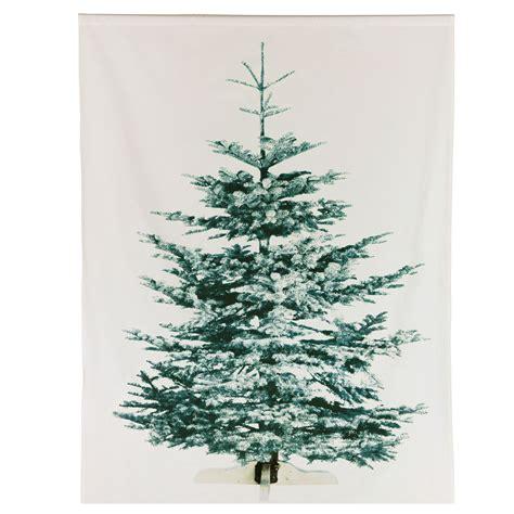 ikea liamaria screen printed christmas tree on fabric