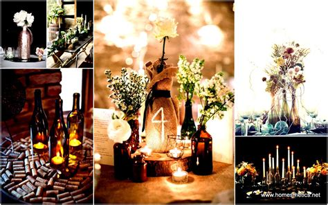 Kitchen Centerpiece Ideas by 31 Beautiful Wine Bottles Centerpieces Perfect For Any Table