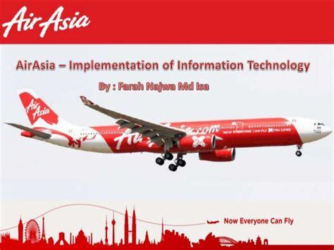 airasia name change airasia it implemental