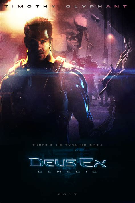 deus ex movie deus ex fan made movie poster by niteowl94 on deviantart