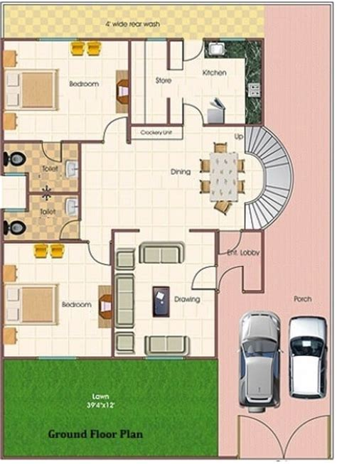 simplex house plan