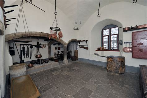 Castle Kitchen by Castle Kitchen At Burg Eltz Inside Historic Chambers