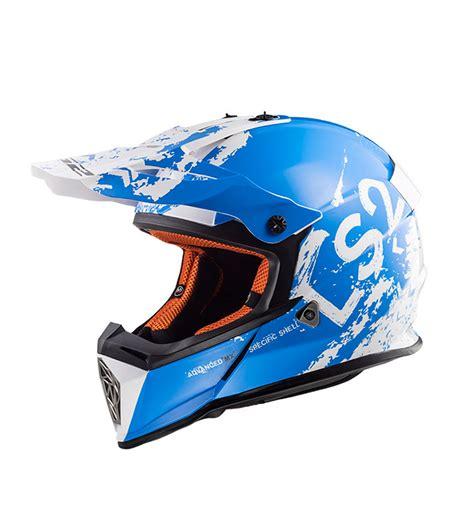 ls2 motocross helmet comprar ls2 helmets casco motocross fast mx437 spot white