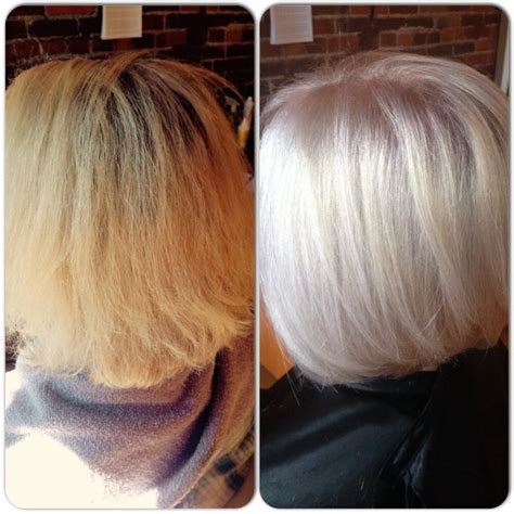 what is a high lift hair color before after high lift artego blonde no bleach olaplex