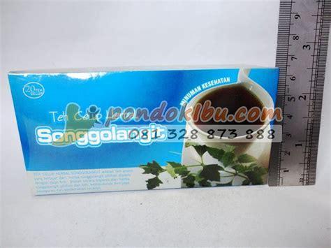 Kombinasi Teh Herbal Untuk Obesitas teh herbal songgolangit minuman untuk kesehatan