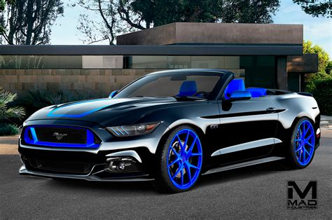 fored mustang eight modified 2016 ford mustangs heading to sema motor