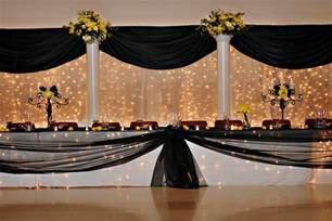 Wedding Backdrop Tulle Vonrisse Xclusive Tent Amp Party Rentals Ltd
