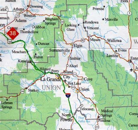 map of union oregon union oregon map oregon map