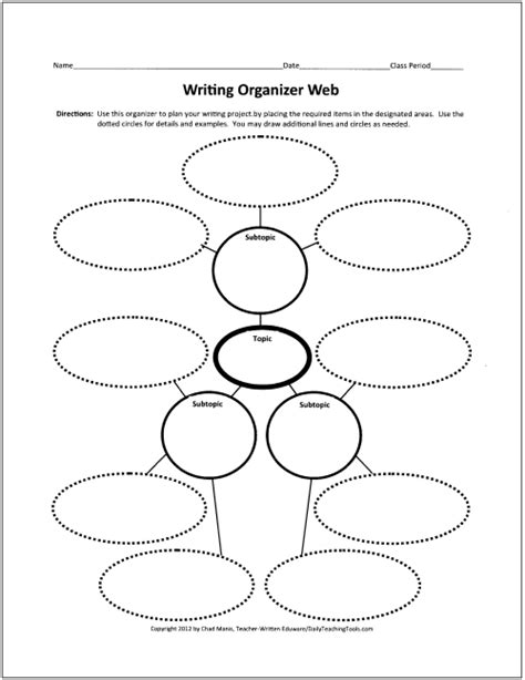 design graphic organizers free graphic organizers for writing new calendar template site