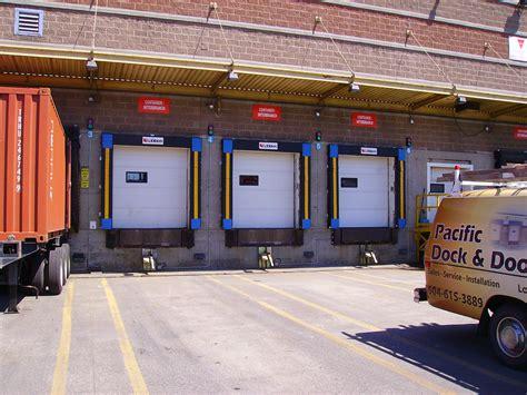 pacific overhead door loading docks seals commercial doors metro vancouver