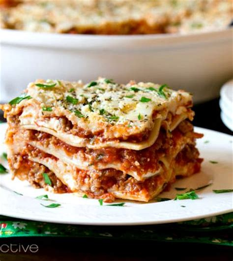 easy recipe for lasagna without ricotta cheese