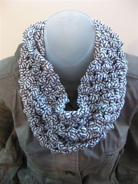 t shirt infinity scarf pattern t shirt yarn infinity scarf bead yarn spatula