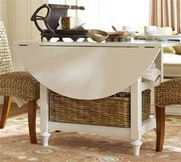 Drop Leaf Kitchen Tables Shayne Drop Leaf Kitchen Table White Pottery Barn