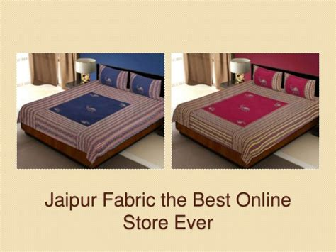 best fabric for bed sheets jaipur fabric bedsheets covers