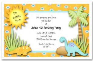 Dinosaur Invitations Template by 40th Birthday Ideas Birthday Invitation Templates Dinosaurs