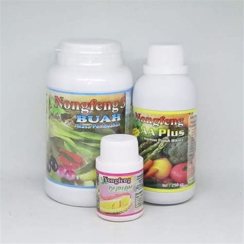 jual pupuk booster durian nongfeng nf durian aa plus