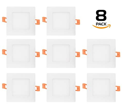 Vinder Slim Downlight Panel 15w 6 inch led 15w ultra slim square shape led recessed downlight ebay