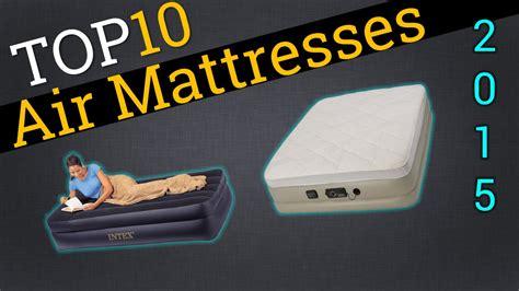 top 10 air mattresses 2015 compare the best air