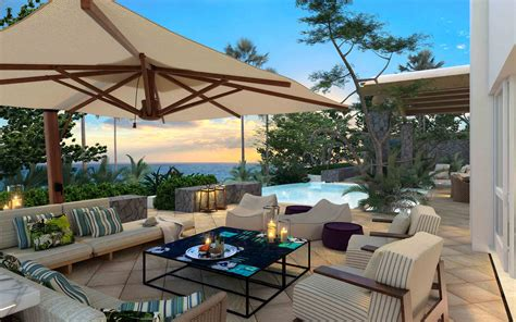 villa patio villas penthouses and suites one only resorts