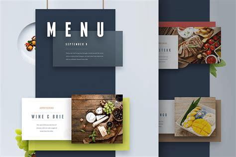 menu presentation template 30 best food drink menu templates design shack
