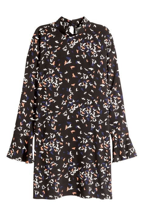 H Caseli Dress Set Black printed dress black sale h m us