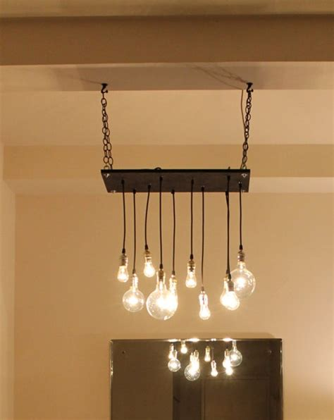 Diy Hanging Chandelier Diy Urban Hanging Chandelier Products I Love