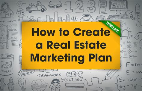 real estate marketing plan template the tools you need to become a great marketer placester